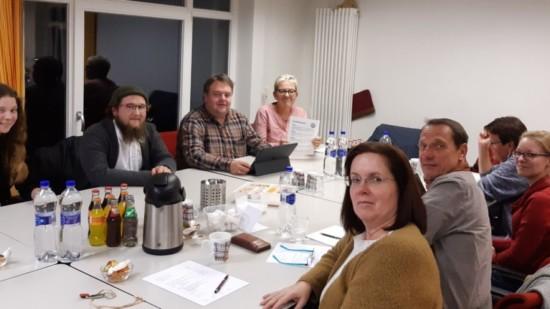 Vorstand trifft die VertreterIn von Friday for Future